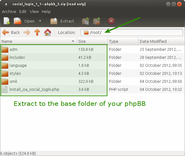phpBB 3.0.x : Social Login Installation
