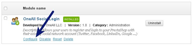 Setup Social Login for PrestaShop