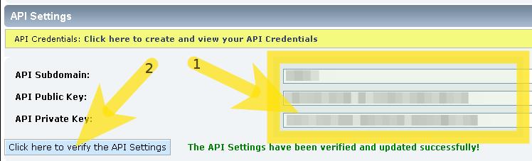 Social Login for Simple Machines Forum: API Settings