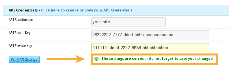 Social Login for Vanilla Forums: API Settings